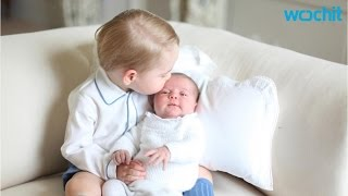 Prince George Holds and Kisses Princess Charlotte in 4 New Photos