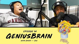The Problem with Asian Stand-ups - Ep 94 - GeniusBrain w Joe Jitsukawa