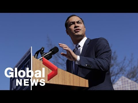 Julian Castro makes 2020 presidential announcement