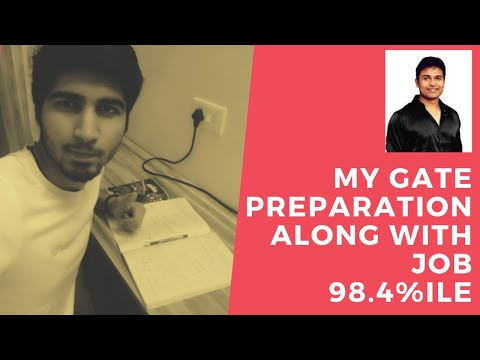 My GATE Journey | How to prepare for competitive exams along with job | GATE 2021