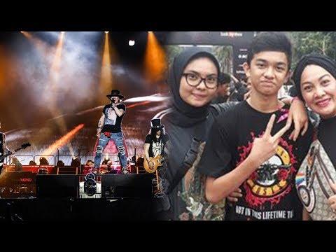 Demi Kenang Mendiang Kakak, Perempuan Ini Nonton Konser Guns N Roses Bersama Kedua Anaknya Mp3