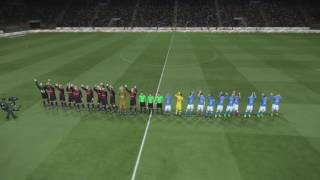 Match Opening AC Milan vs. SSC Napoli Serie A Italy 2016/2017