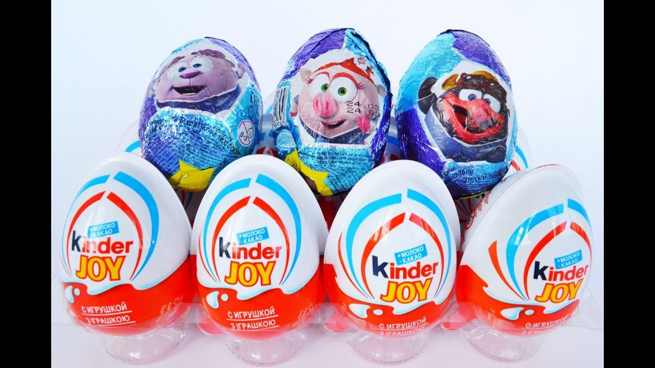 Kinder Surprise капуки кануки.kapuki Kanukov .мисс кэти .KinderToysShow.SurpriseToys a lot of candy