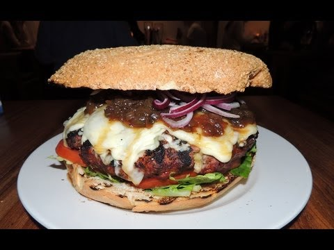 Ad Lib's MONSTER Burger Challenge in Glasgow!!