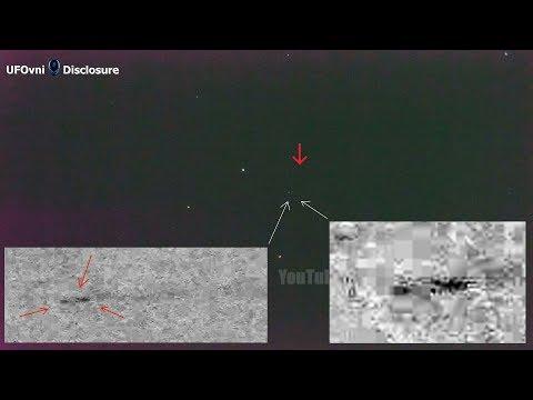 nouvel ordre mondial | Fast Cigar Shaped UFO Filmed by space - November 19, 2017