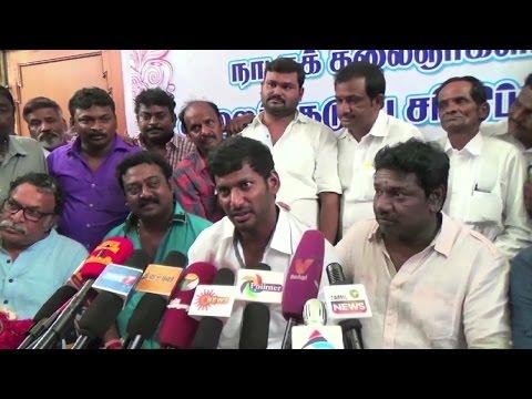 Nadigar Sangam Issue - Actor Radha Ravi Abused Kamal Haasan - Vishal Team Leaks The Inside News