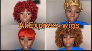 ALIEXPRESS Wig Haul + Try On