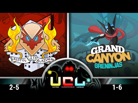 Pokemon ORAS WiFi Battle | Bristol City Blazikens vs Grand Canyon Greninjas| UCL W8S1
