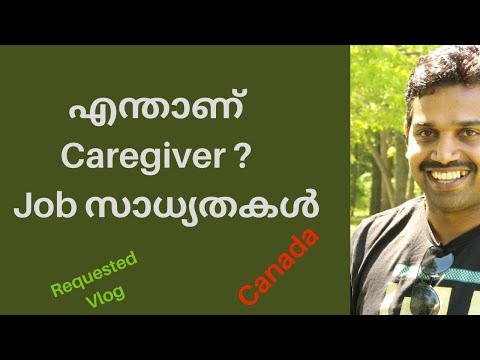 Care Giver Jobs Canada In Malayalam