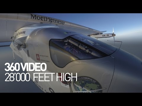 360 video - 28'000 Feet High - from Seville to Cairo
