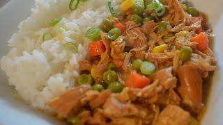 Slow Cooker Apricot Chicken