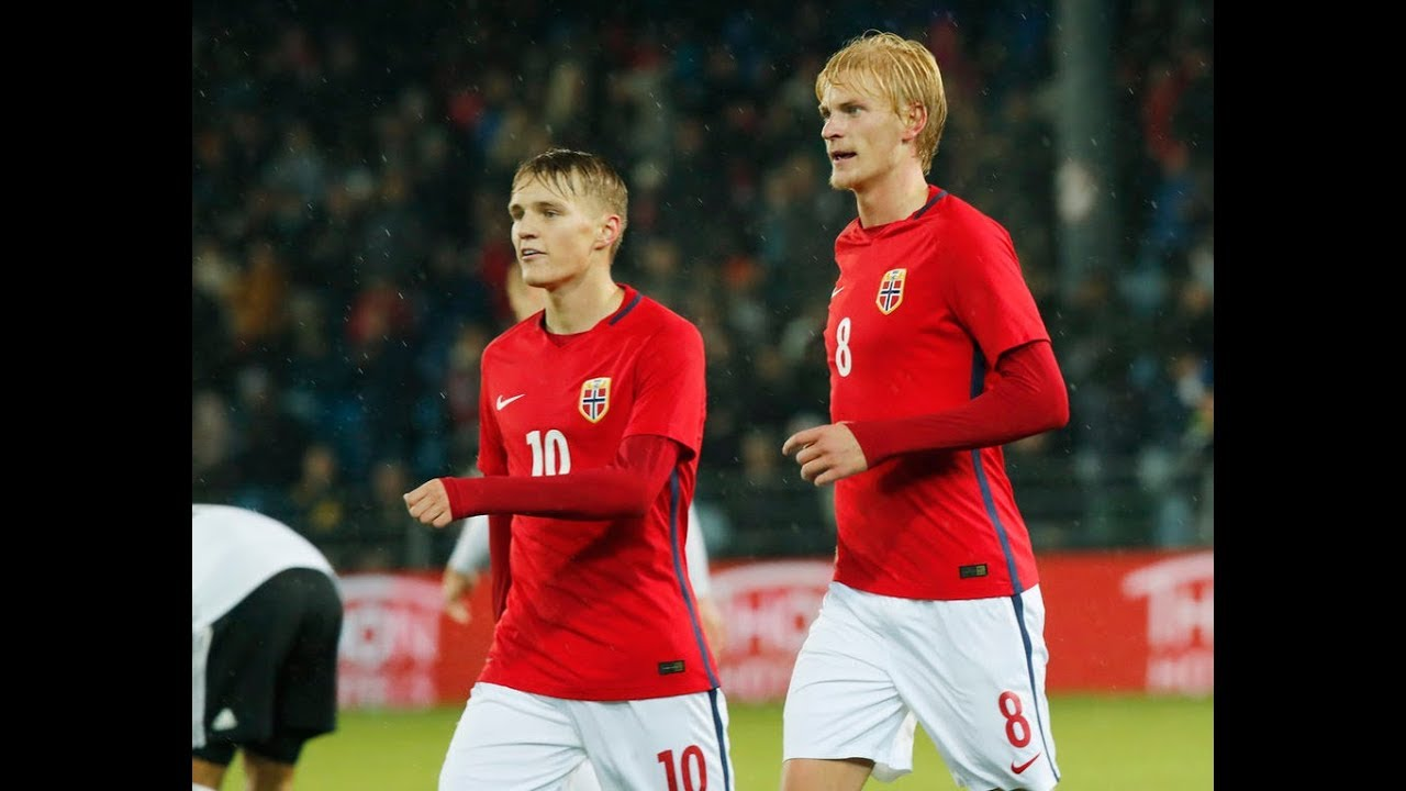 Норвегия U-21 - Германия U-21 3:1 видео