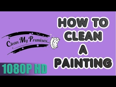 How To Clean Your Painting Cleaning Old Paintings Oil Paintings Youtube