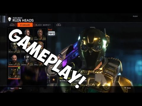 (60fps) Call of Duty Bo3- Modded/Glitched PS4 ACCOUNT GAMEPLAY!