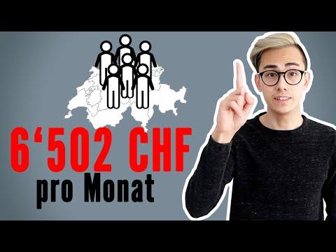 6'502 CHF Das Verdienen Wir Schweizer Im Monat 🇨🇭💸  Sparkojote