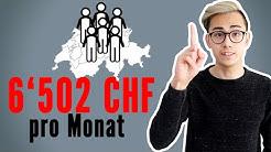 6'502 CHF das verdienen wir Schweizer im Monat 🇨🇭💸| Sparkojote