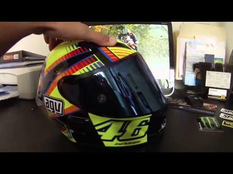 Fast FZ09 | Gear Review | AGV Corsa Sole Luna | Rossi Helmet