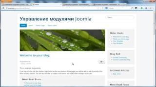 Joomla. Обзор расширений. Урок 2. Расширения для модулей. (Виктор Гавриленко - Webformyself)