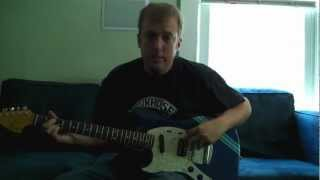 Joe Brewer reviews: 2012 Kurt Cobain left handed Fender competition Mustang