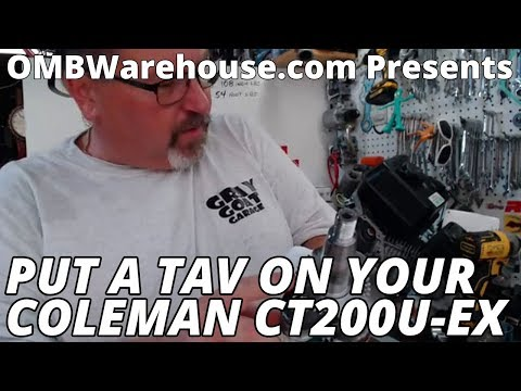 Coleman CT200U Crankshaft Swap