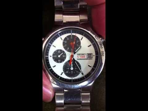 seiko 1 100 chronograph youtube. Black Bedroom Furniture Sets. Home Design Ideas