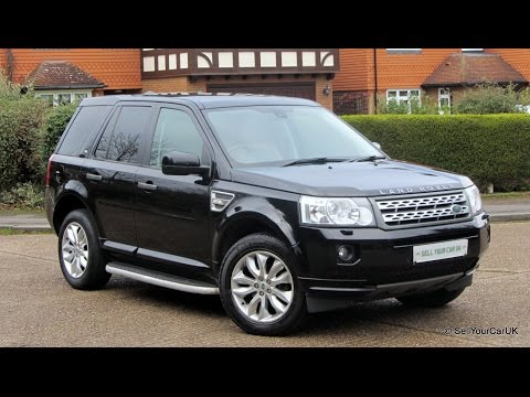 SOLD USING SELLYOURCARUK - 2011 Land Rover Freelander 2 SD4 HSE Auto, Full Service History