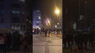 2018 İZMİR ALSANCAK GÜNDOĞDU ILK HAVAİ FİŞEK GÖSTERİSİ