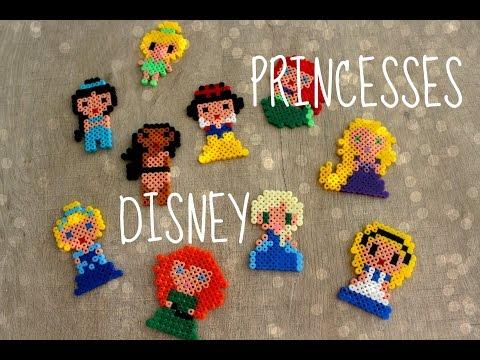 DIY : Princesses Disney en Perles Hama / Disney Princess Perler Beads