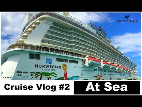 Norwegian Getaway Cruise - Day Two:  At Sea!