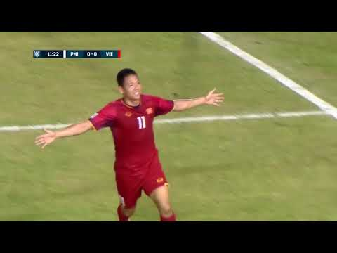 Philippines 1-2 Vietnam (AFF Suzuki Cup 2018) - Bán kết lượt đi