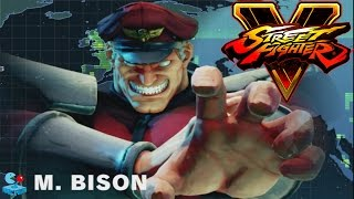 Street Fighters V: The Story of M.Bison Bringer of Destruction (Street Fighter 5 PS4)