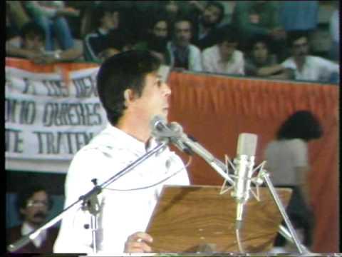 Silo Conferencias Acto publico de Madrid 1981