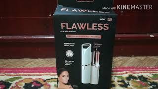 رأي في جهاز flawles لازاله شعر الوجه