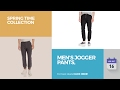 Men's Jogger Pants, Spring Time Collection