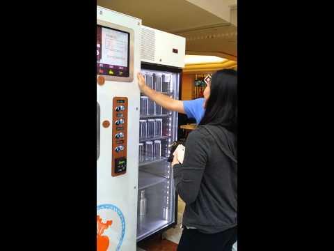 Cold pressed juice dispenser San Francisco