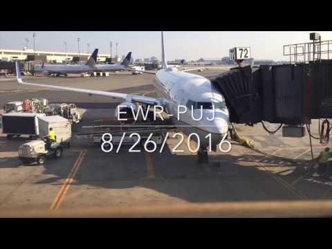 United Airlines 737-800 Newark - Punta Cana Trip Report w/ATC!