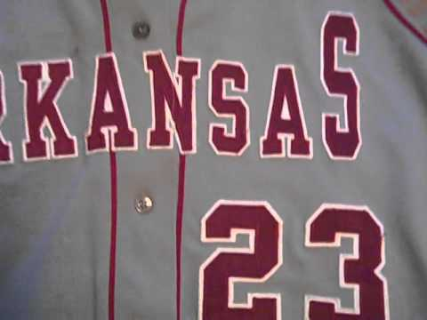 online store 19ea2 a32dc Arkansas Razorback Game Worn - 2013 Baseball Jersey & Softball Jersey