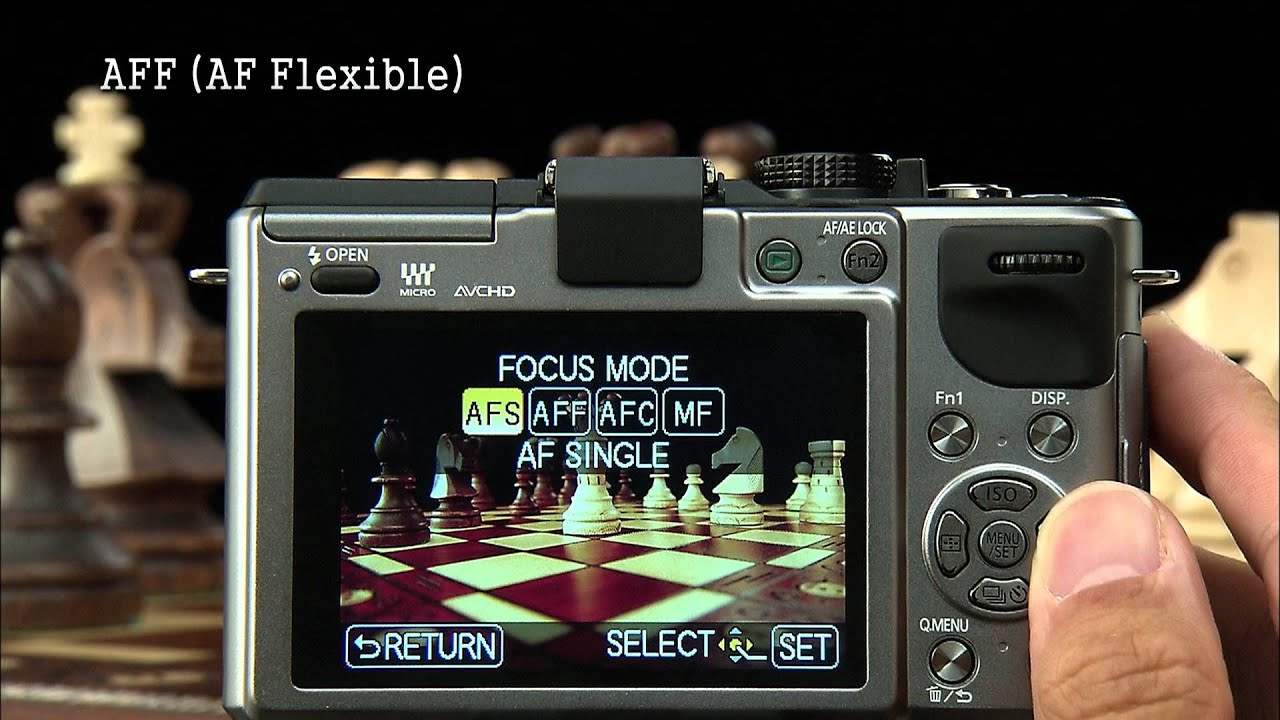 lumix gx1 manual aff feature youtube rh youtube com Panasonic GX7 DMC GM1