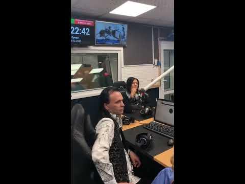 """Глеб Самойлов & The Matrixx - фрагмент эфира """"Вечерняя смена"""" (Радио России, 19.02.2020)"""