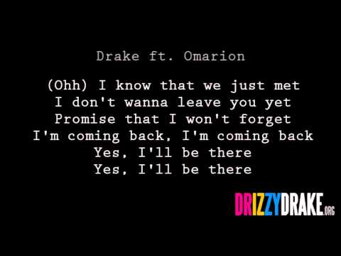 Drake ft. Omarion - Bria's Interlude Lyrics [VIDEO]