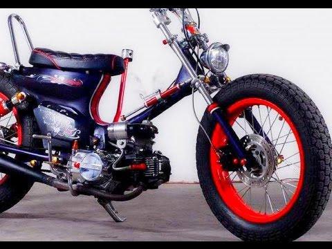 Modifikasi Honda Astrea Grand Custom Street Cub Chopper Japan Style
