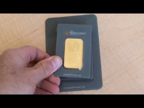 Minted Gold Bars a great alternative for bullion investors