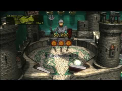 Classic Game Room - EXCALIBUR for ZEN PINBALL PS3 review