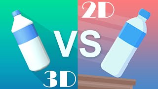 Bottle Flip 3D VS  Impossible Bottle Flip Competition Walkthrough