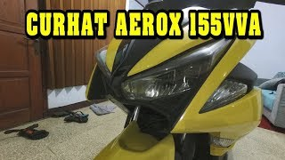 Review Yamaha Aerox 155 Standart Version