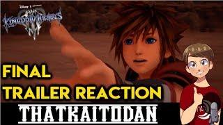 Kingdom Hearts 3 - Final Battle Trailer Reaction!!!