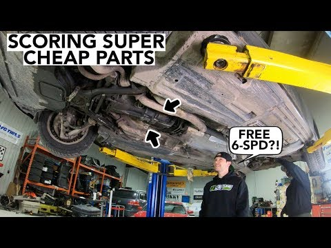 How To Get FREE Car Parts For Your Project