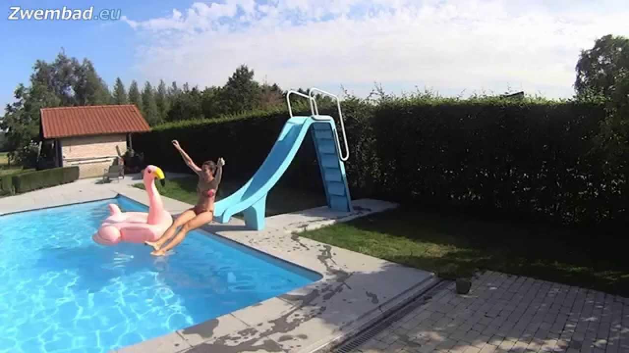 Astral pool glijbaan voor zwembad youtube - Zwarte voering voor zwembad ...