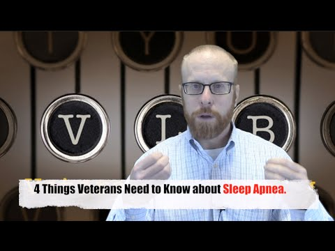 4 Things You Need to Know about VA Sleep Apnea Disability Claims