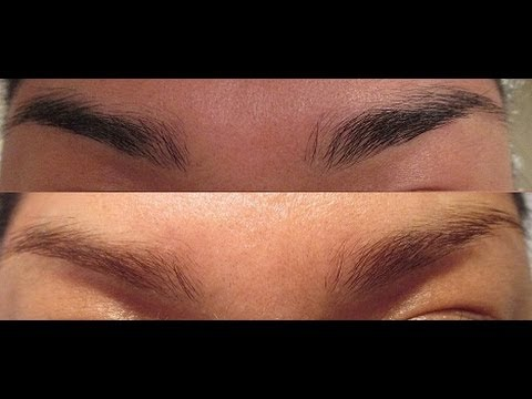 Lightening Bleaching Eyebrows Youtube